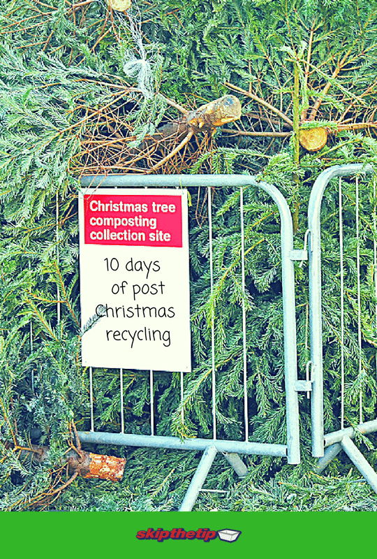 10 days of post christmas recycling - Skip bin hire, Skip bins Newcastle, Newcastle skip bins