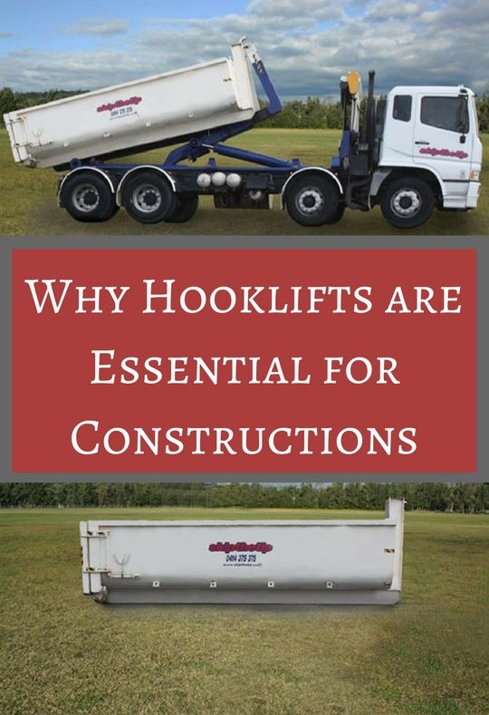 Why Hooklifts are essential for construction